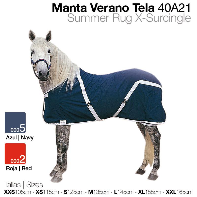 165 cm caballos verano manta Catago verano manta para caballos-Navy