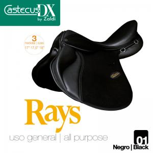 SILLA CASTECUS DX USO GENERAL RAYS NEGRO