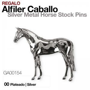 REGALO ALFILER CABALLO GA00154 PLATEADO